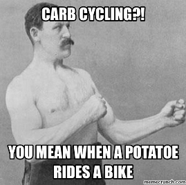 carb cycling bike 2
